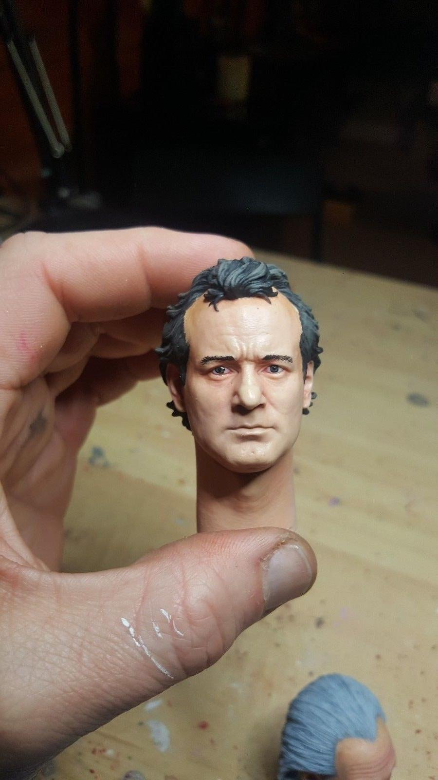 Custom ghostbusters Murray head for 12 inch new