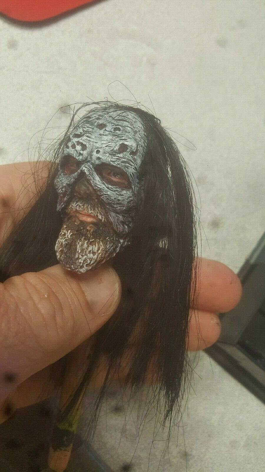 custom walking dead beta hair for body
