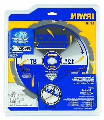 IRWIN Tools Cement PCD Circular Saw 12-Inch,