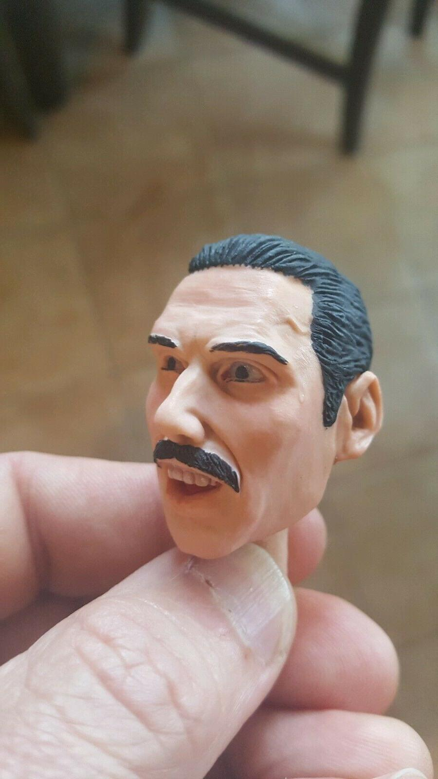 Freddy mercury queen head live 1/6 12 inch figure