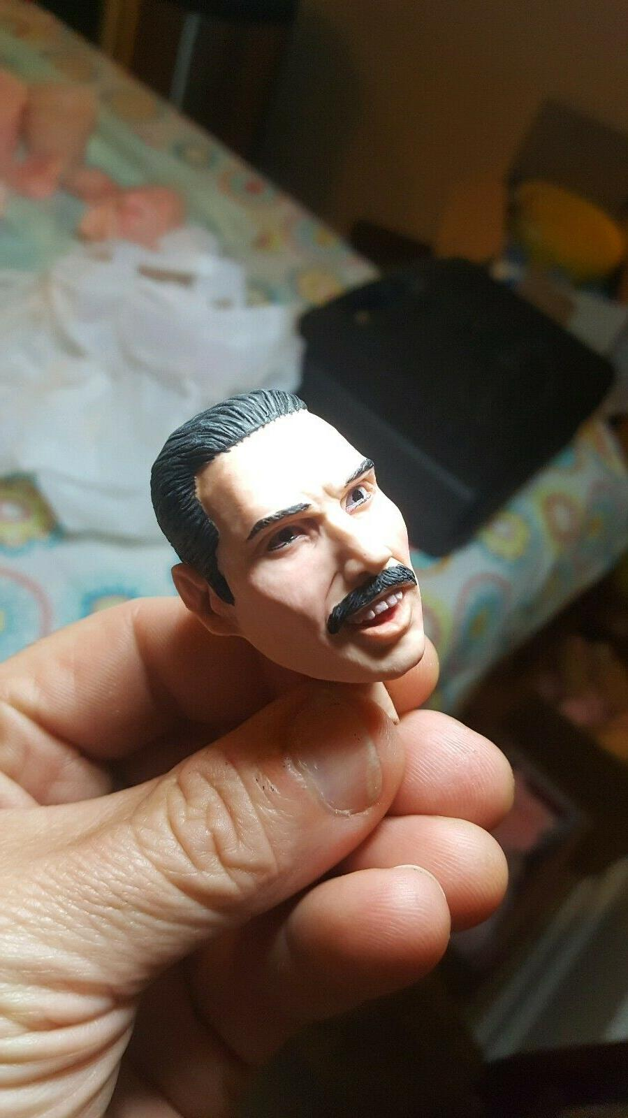 freddy mercury queen head live aid new