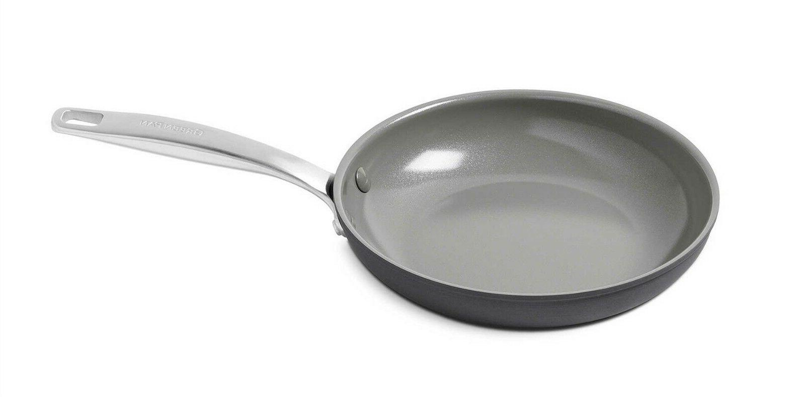 GreenPan Frying Pan Ceramic Nonstick Anodized Cookware Sizes