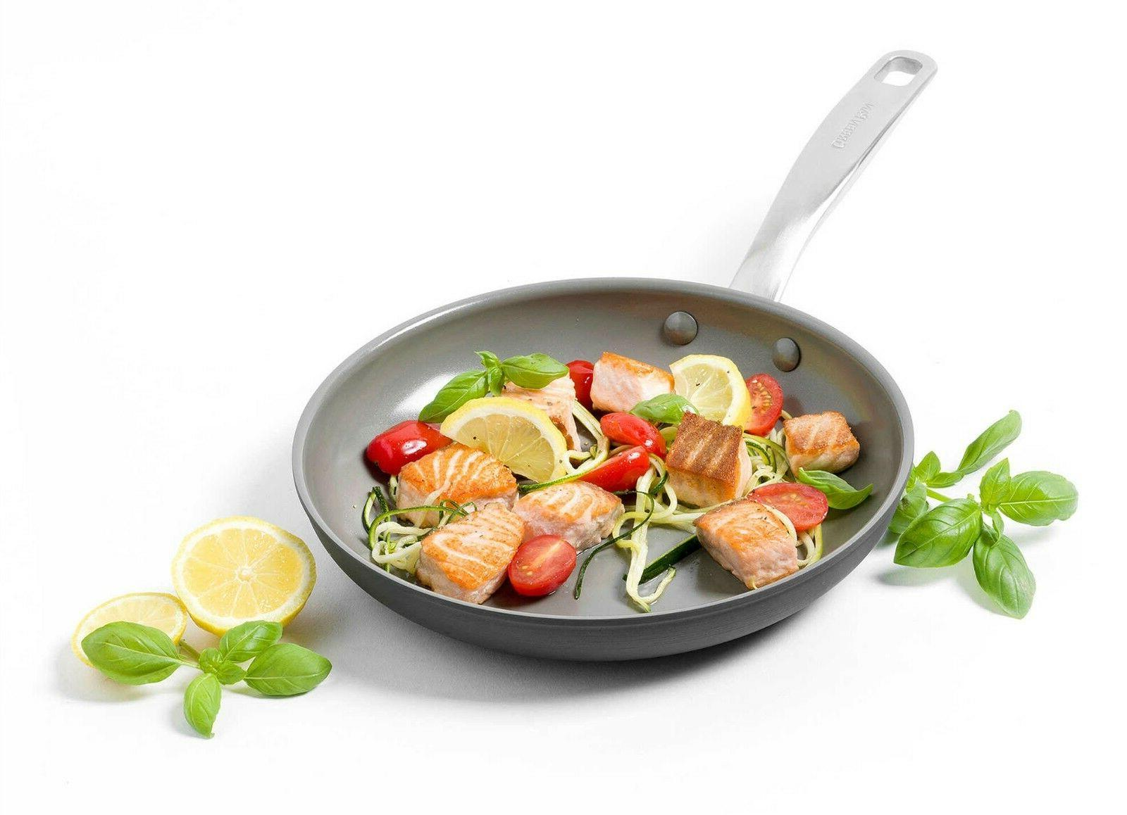 frying pan chatham ceramic nonstick interior anodized