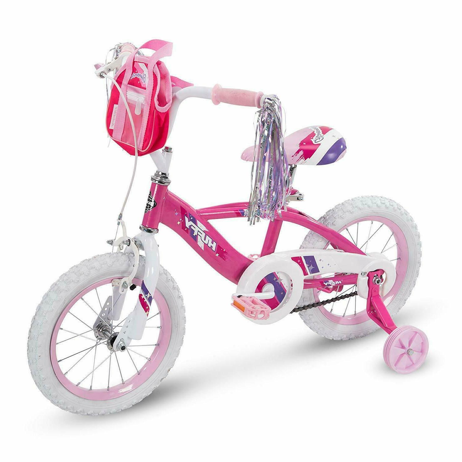 girls glimmer bike 12 inch pink or