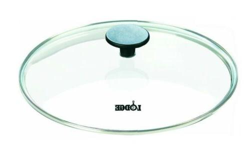 """Lodge Logic GL12 Tempered Glass Lid / Cover for 12"""" Cast Iro"""