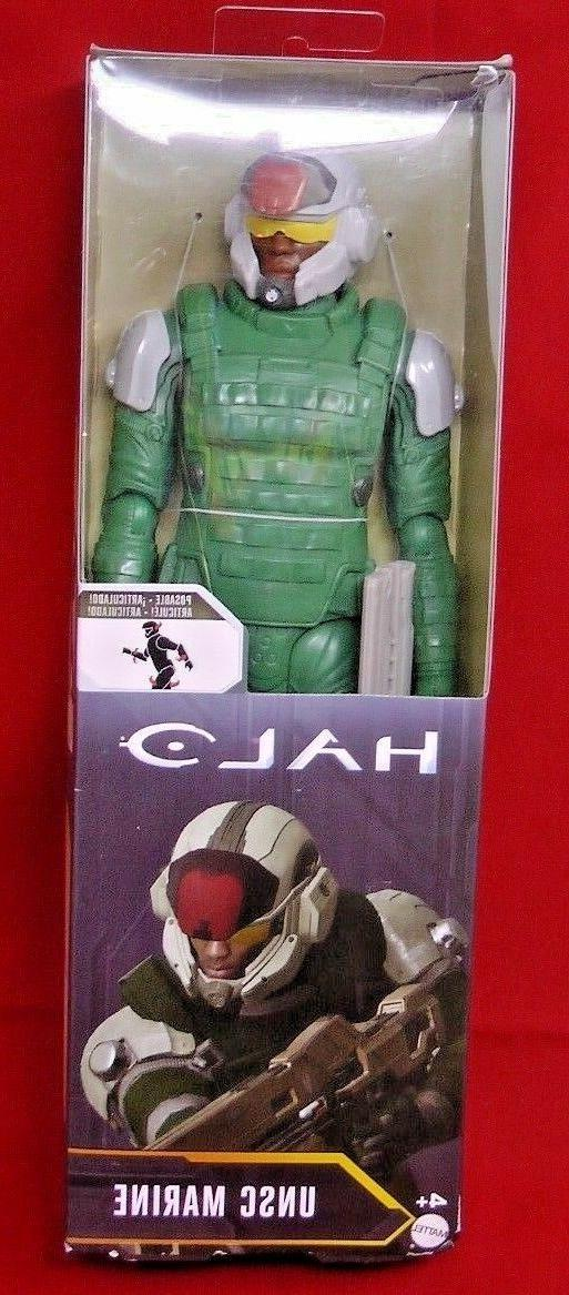 halo unsc marine 12 inch fully poseable