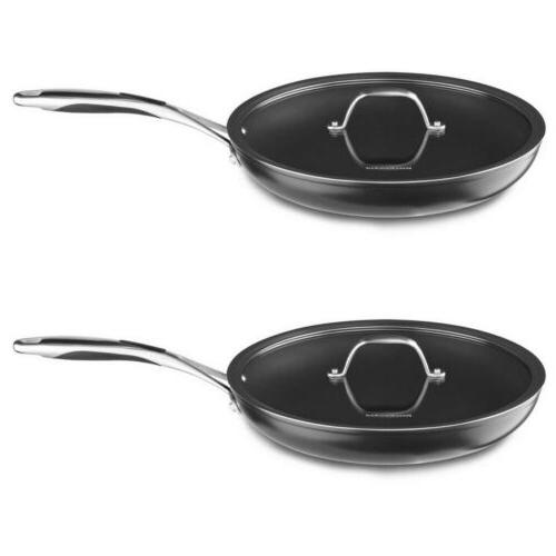 hard anodized nonstick skillet