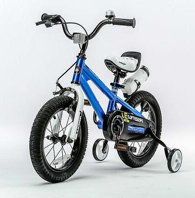 HOT Royalbaby Freestyle Kid's Bike, 12 inch with Training Wheels,