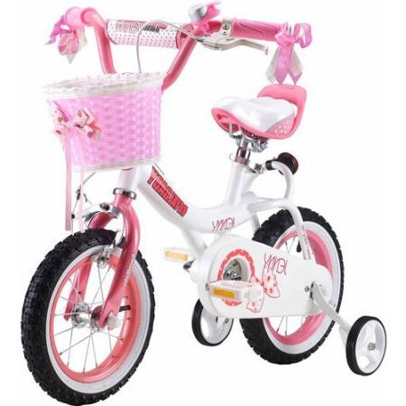 Royalbaby Princess Girl's Wheels Basket, Perfect Gift for Kids