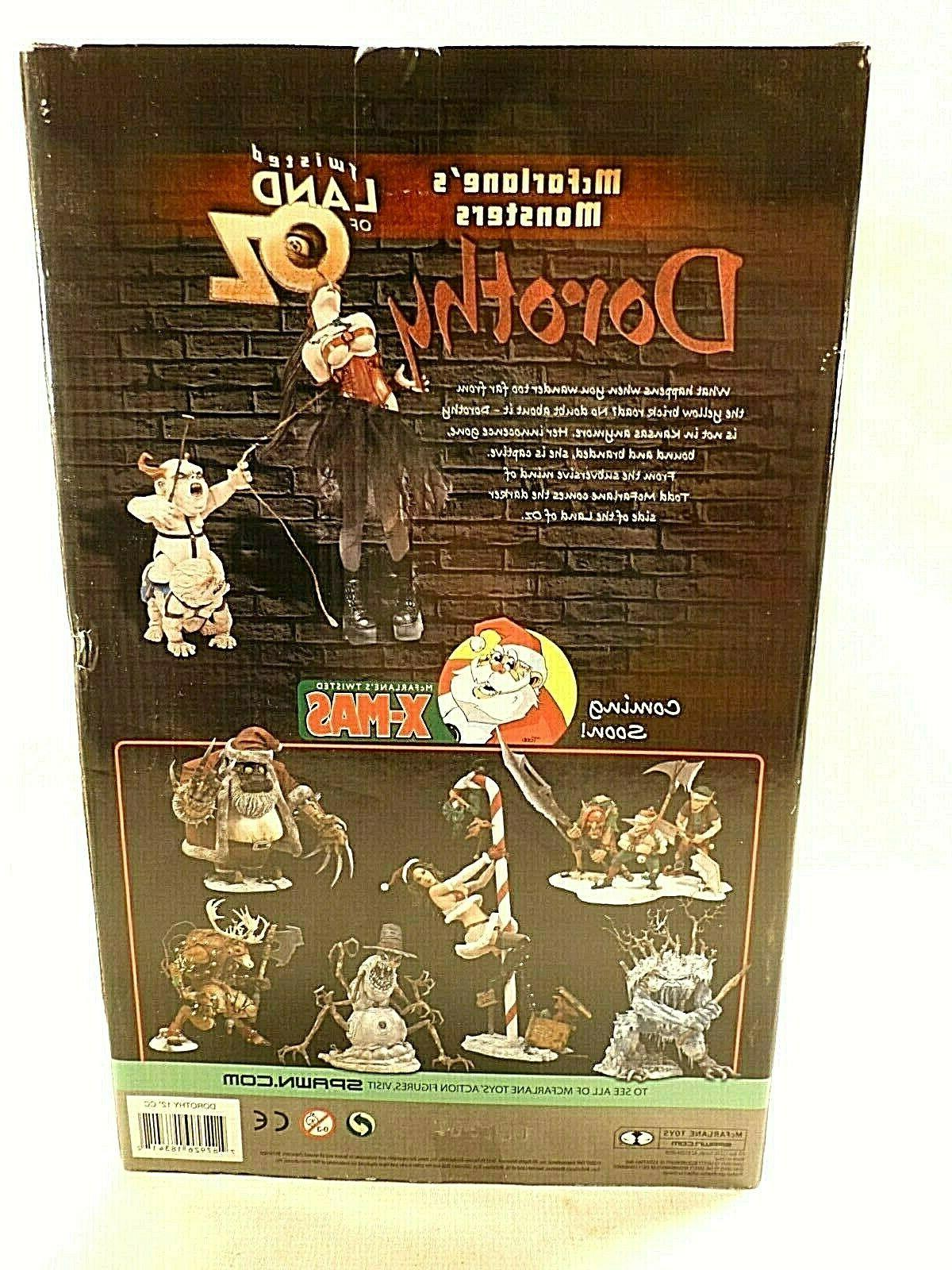 McFarlane Toys Oz Inch Boxed Action Figure 2007