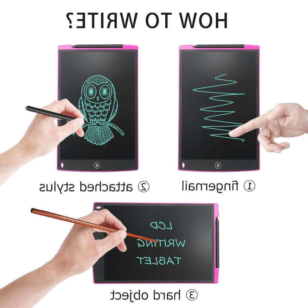 NeWYeS <font><b>12</b></font> Electronic Graphics Doodle Pad pen Gift for kids