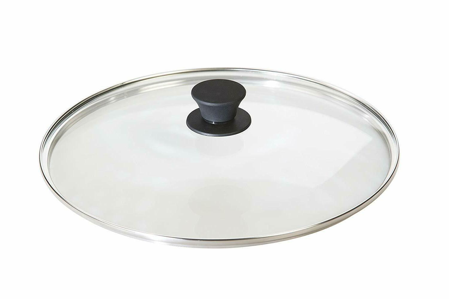 lodge tempered glass lid 12 inch fits