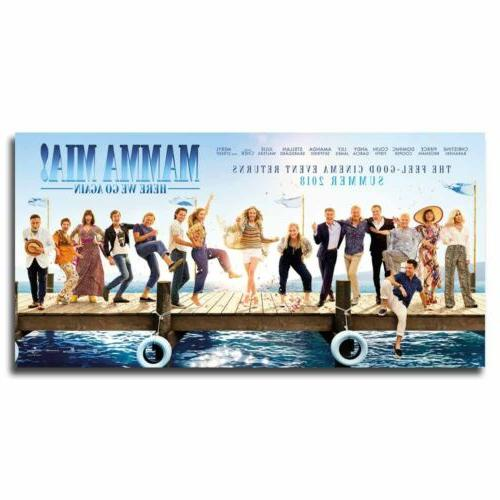 Mamma Mia! Here We Go Again 24x12inch Movie Silk Poster Art