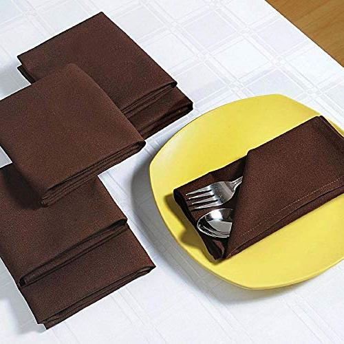 napkins cotton cloth dinner table