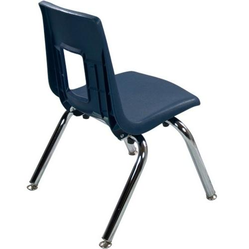 """12"""" Navy Stackable Chair"""