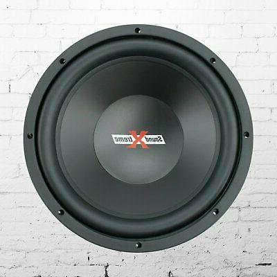 New SoundXtreme 12 2000 Watt Subwoofer with DVC - 1