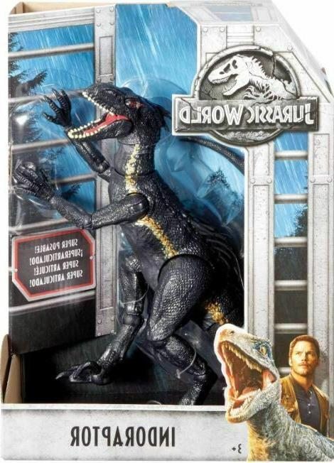 NEW Jurassic Kingdom INDORAPTOR Figure -50%