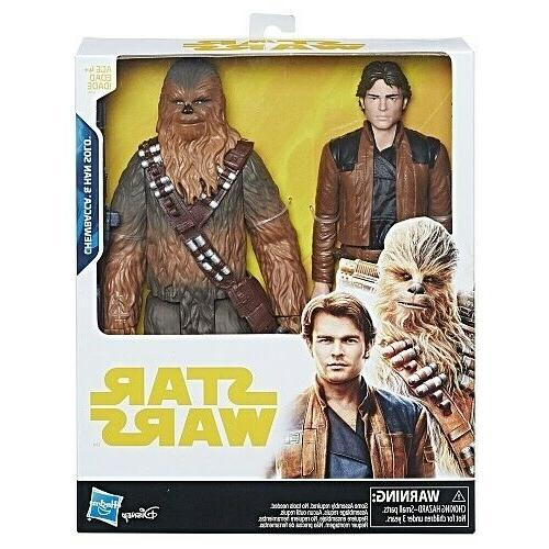 new solo 12 inch chewbacca and han
