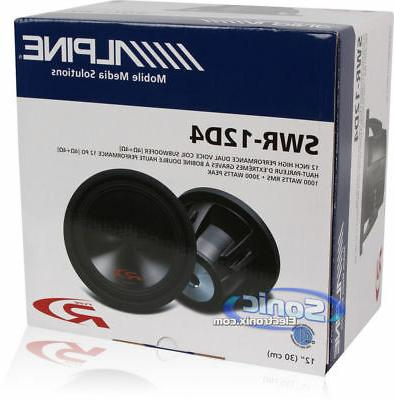NEW! 3000 Dual 4ohm Subwoofer