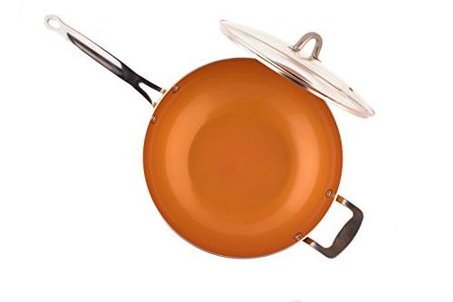 Original Copper Non-Stick Wok with