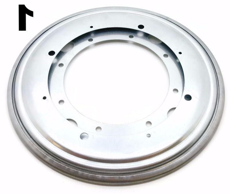 one 12 inch lazy susan round turntable