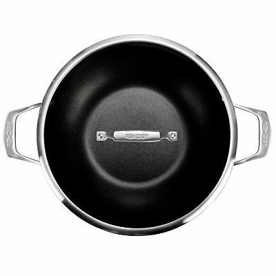 TECHEF - 12-Inch Wok/Stir Fry with Glass with