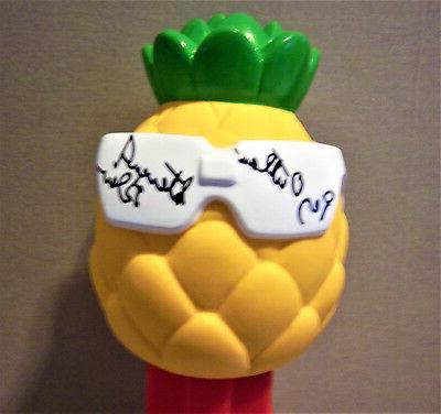 Pez Outlaw Signature on12 inch tall Pez Pineapple Bank new i
