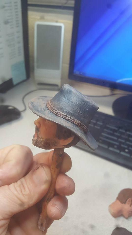 red dead arthur with hat 12 figure