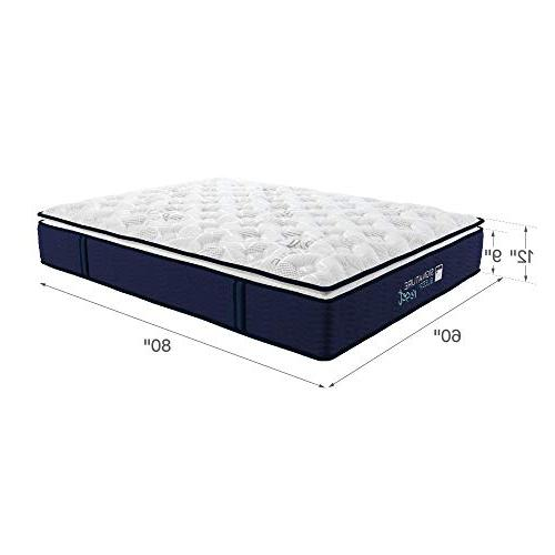 Signature Nanobionic Pillow Top Mattress, Queen