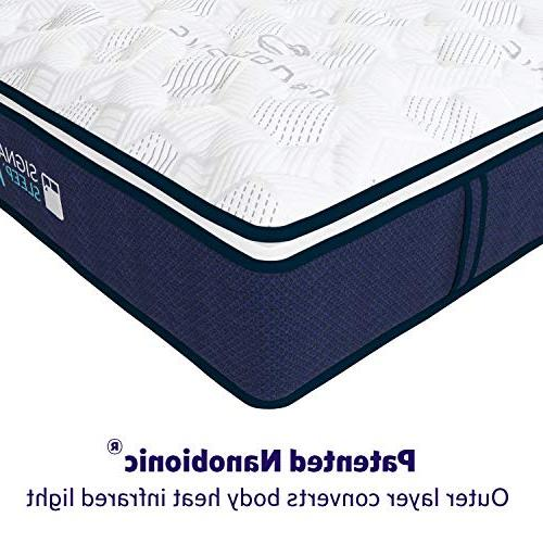 Signature Nanobionic Pillow Top Mattress,