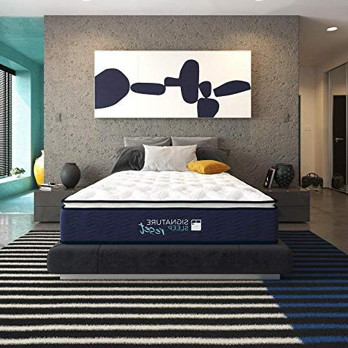 Signature Nanobionic Hybrid Mattress, Queen
