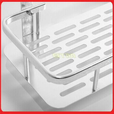 Shower Basket Inch Organizer Aluminum Mount Rack