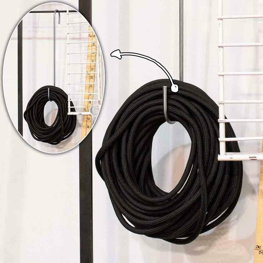 Stainless Silver - Inch S-Shaped Hanging Hooks Packs