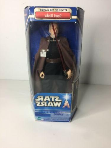 star wars 12 inch count dooku attack
