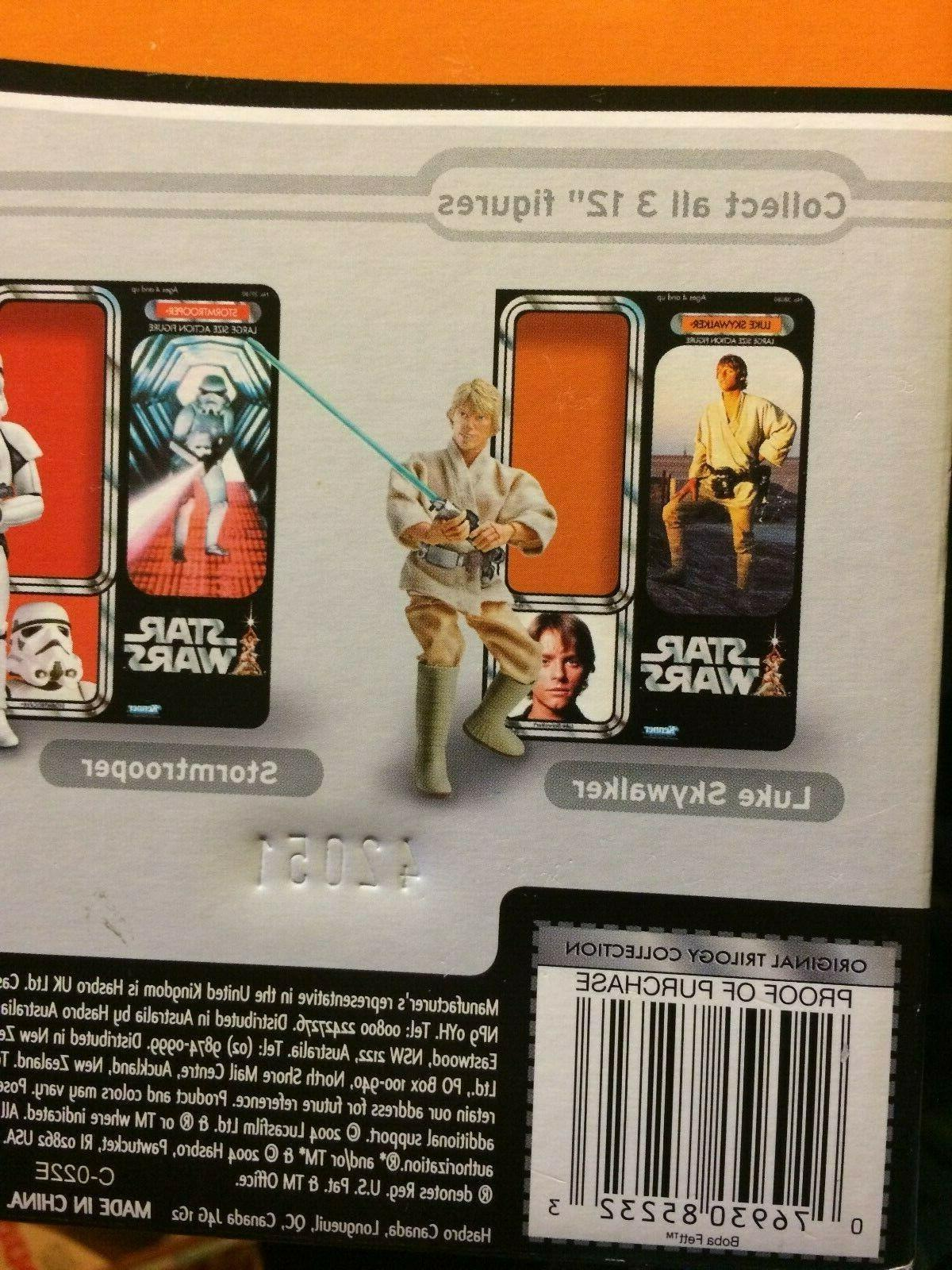STAR INCH THE ORIGINAL TRILOGY COLLECTION BOBA Mint