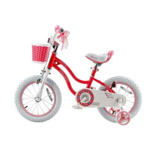 stargirl bike training wheels basket 12 inch