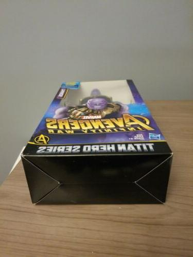 THANOS Avengers Infinity War 12-Inch Figure Titan Power FX Port