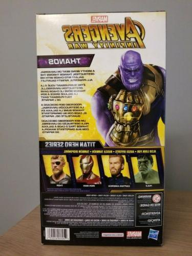 THANOS Avengers Infinity 12-Inch with Titan Power FX Port