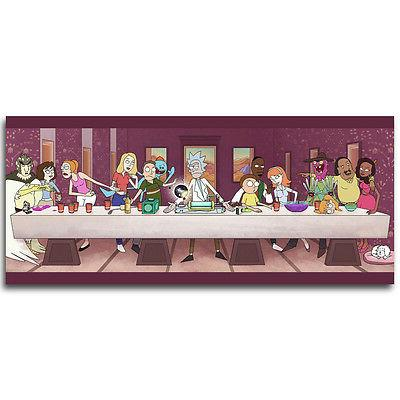 the last supper rick and morty cartoon