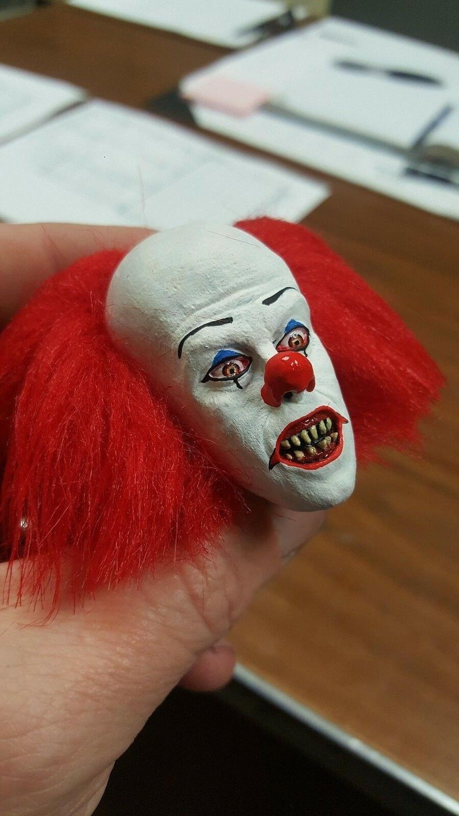 Tim clown fang version from it head for inch body