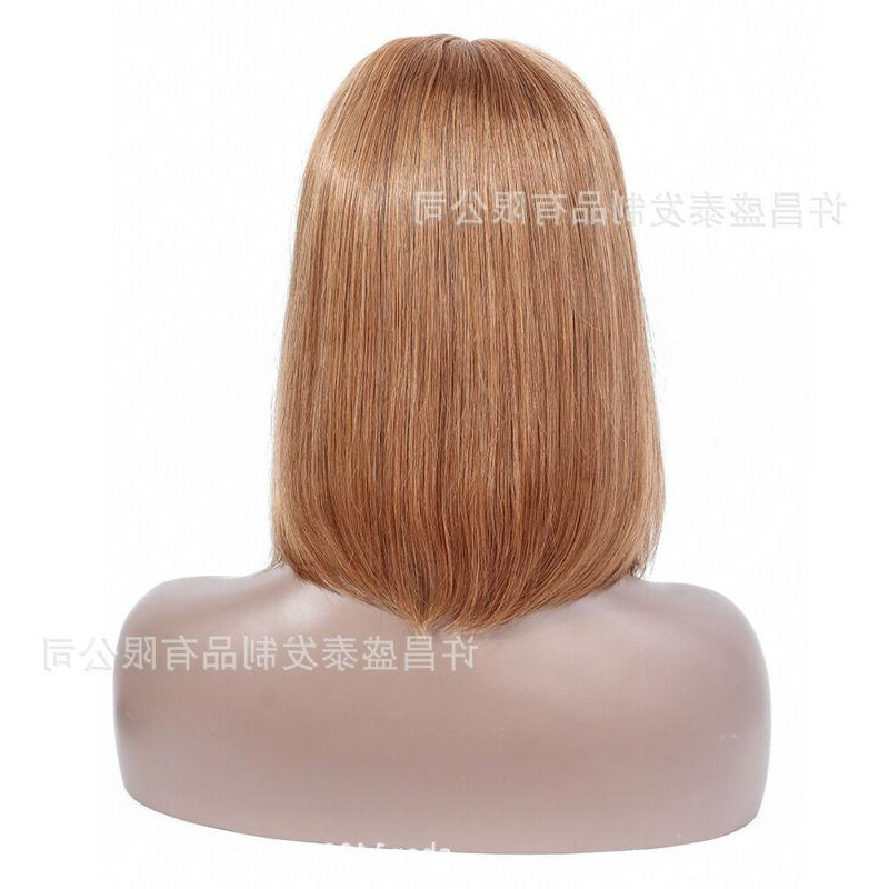 US 12-14inch front wig Human Hair