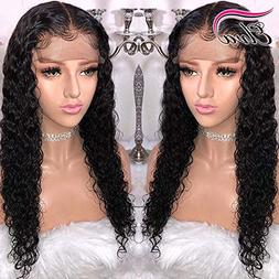 13x6 Lace Front Brazilian Remy Human Hair Wig Pre-Plucked Ha