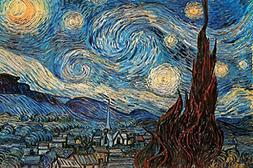 Laminated The Starry Night 1889 by Vincent Van Gogh Art Prin