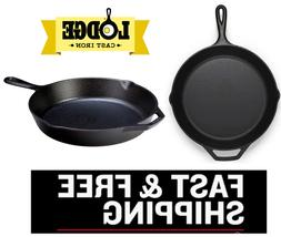 Lodge L10SK3 12 Inch Pre-Seasoned Cast Iron Skillet Pan with