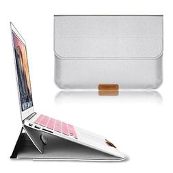 Macbook 12 Inch Case Sleeve with Stand Function, Swees 12 In