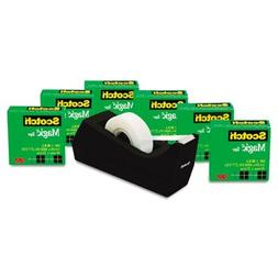 "Scotch Scotch Magic Tape Value Pack with Dispenser, 3/4"" x 2"