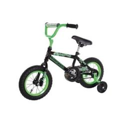 Dynacraft Magna Gravel Blaster Boy's 12 Inch Bike , Green/Bl