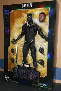 Marvel legends 12 Inch Black Panther Action Figure New Seale
