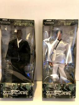 Matrix Film 12 inch figures  LOT of 2 - Martial Arts NEO and