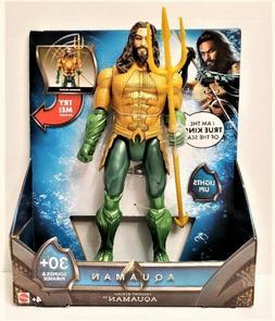 Aquaman Movie 12-Inch Light and Sounds Action Figure with Sp